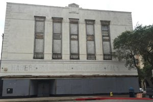 Front of Montgomery Ward Building