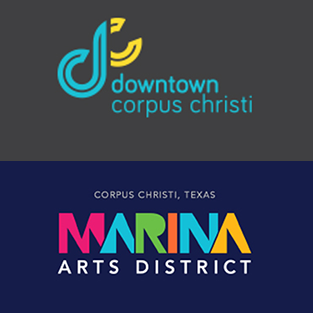 DOWNTOWN CORPUS CHRISTI / Marina Arts District Logo