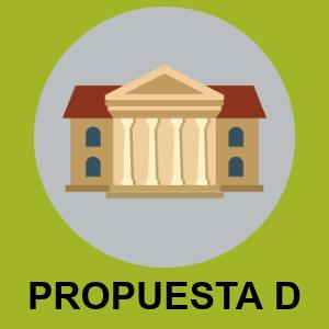 PROPUESTA D - BIBLIOTECAS Y SERVICIOS CULTURALES