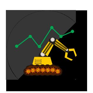 Excavator graphic