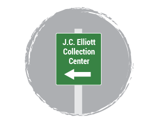 J.C. Elliott Collection Center Sign
