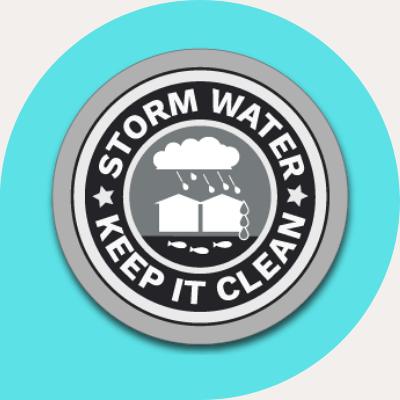 storm water circle logo