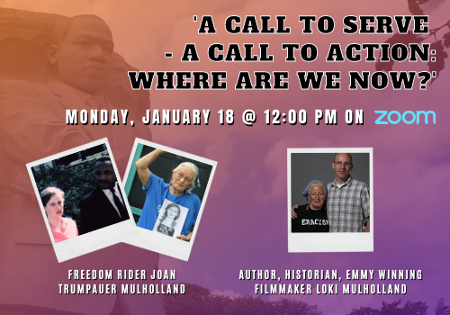 A Call to Serve - A Call to Act: Guest Speakers
