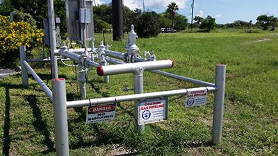 danger gas pipelines