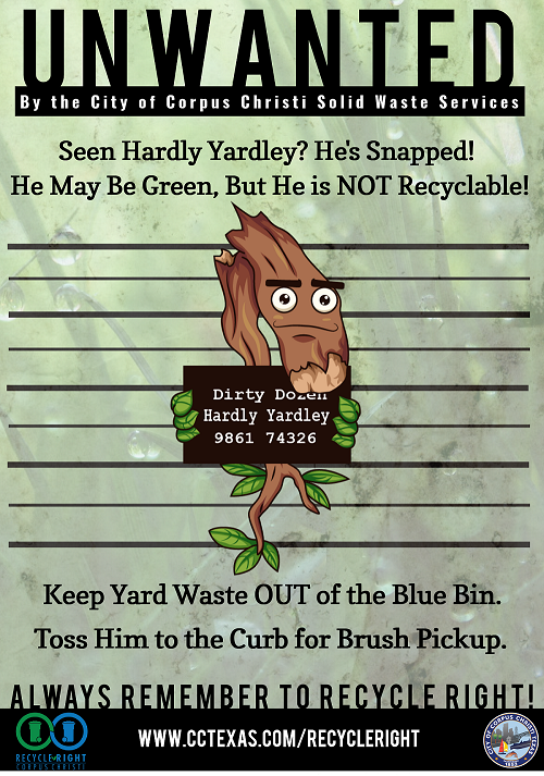 Hardly Yardley Poster: Content below Image