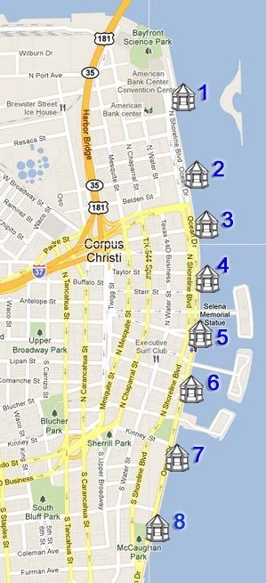 miradores map