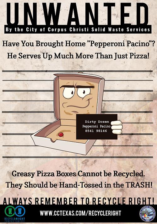 Pepperoni Pacino Poster: Content below Image