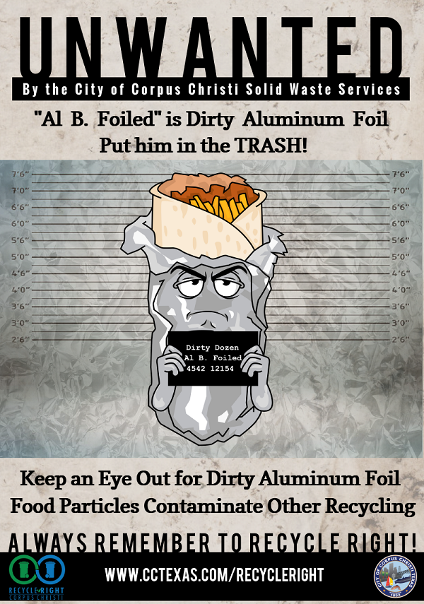 Unwanted POster of Al B. Foiled
