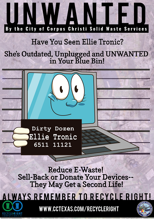 Ellie Tronic Poster: Content above Image